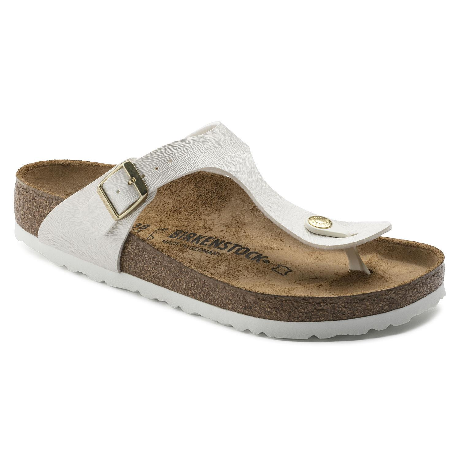 Birkenstock Gizeh Bf Animal Fascination Offwhite Kadın BRK1008661