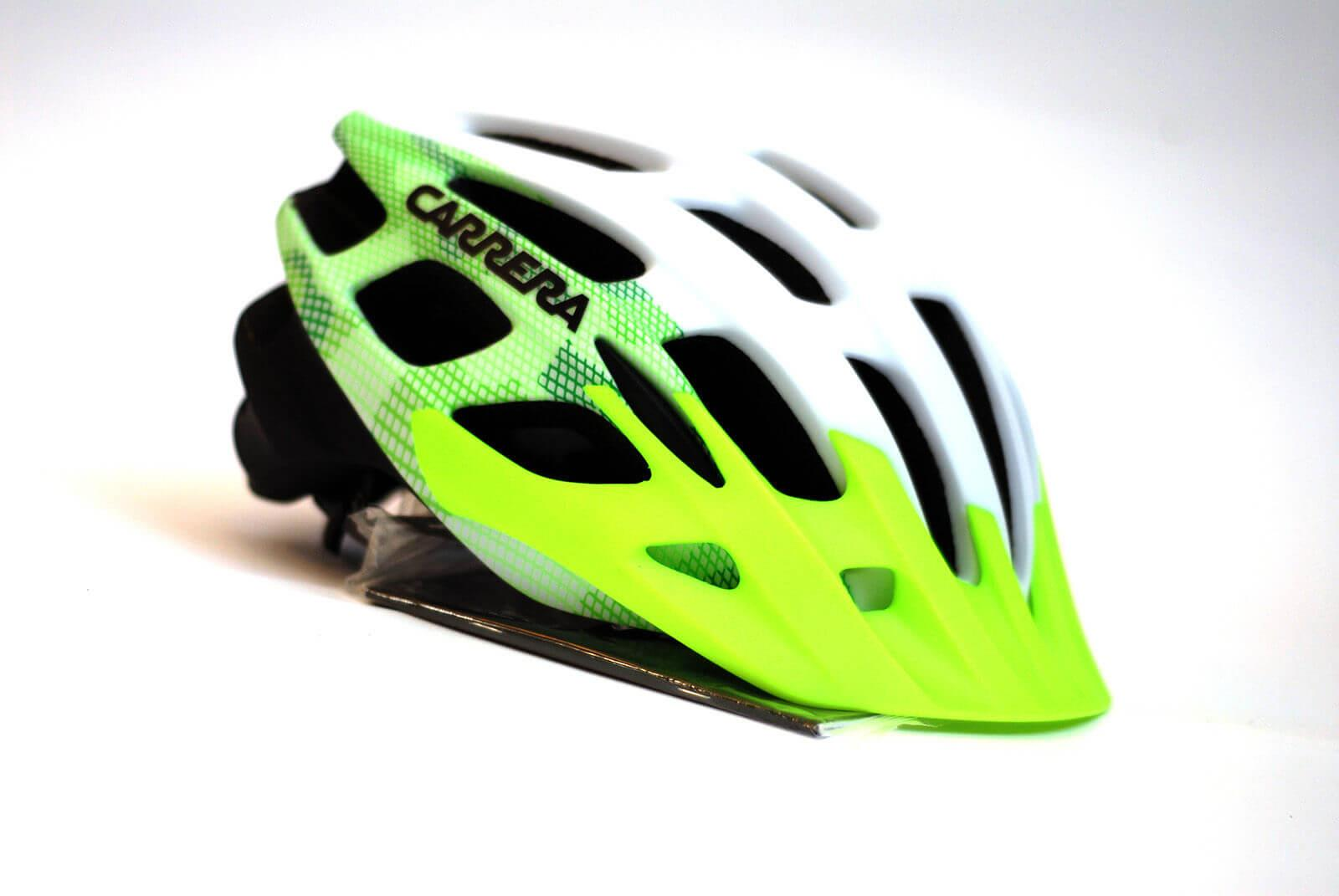 Carrera Edge 58 62 Wt Fl Grn Blk Mat Bisiklet Kaskı CA4227765862