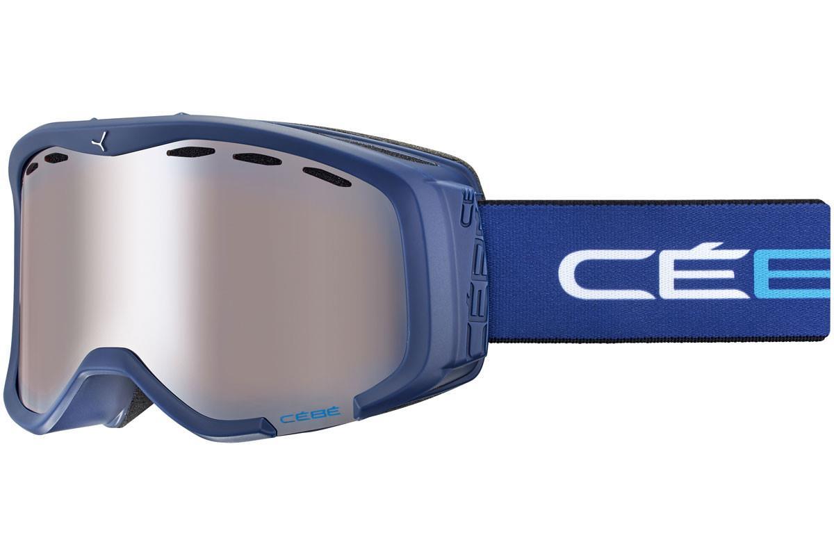 Cebe CHEEKY Gözlük üstü takılabilen  Mat Blue White Orange Flash Mirror Cat.2 K. Gözlüğü