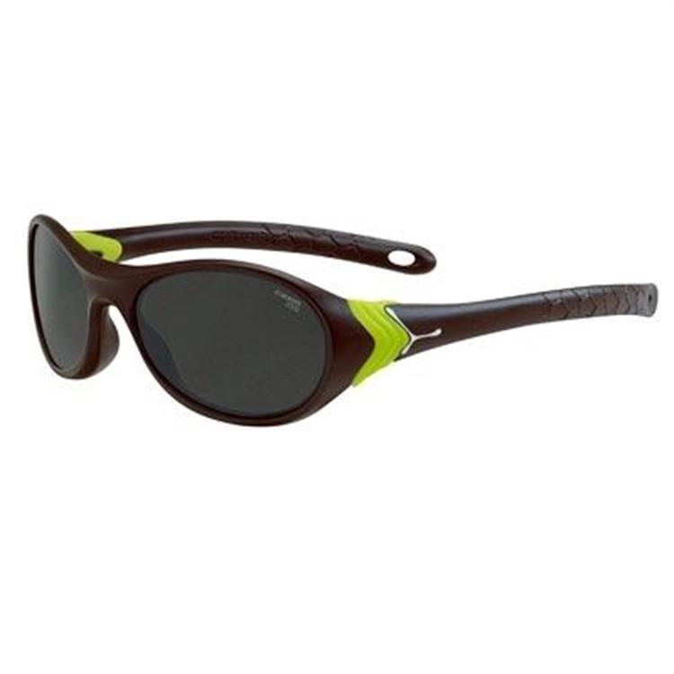 Cebe Cricket Güneş Gözlük Mat Brown Neon Yeşil Grey Cbcrick1