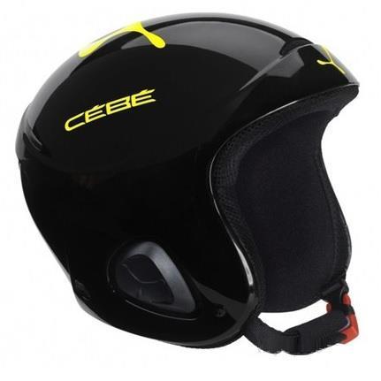 Cebe Ellips Kayak Snowboard Kask 52Cm Çocuk SiyahSarı CB111400152