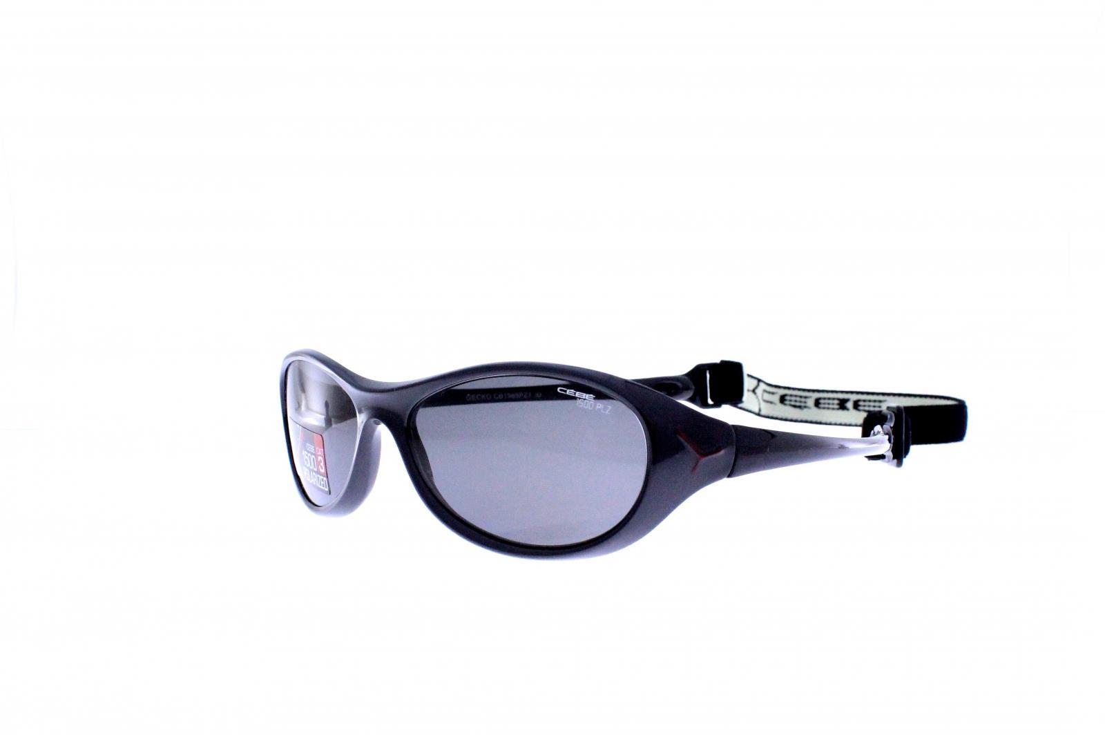 Cebe Gecko Çocuk Gözlük Parlak Glosy Siyah 1500 Grey Cb1985Pz1