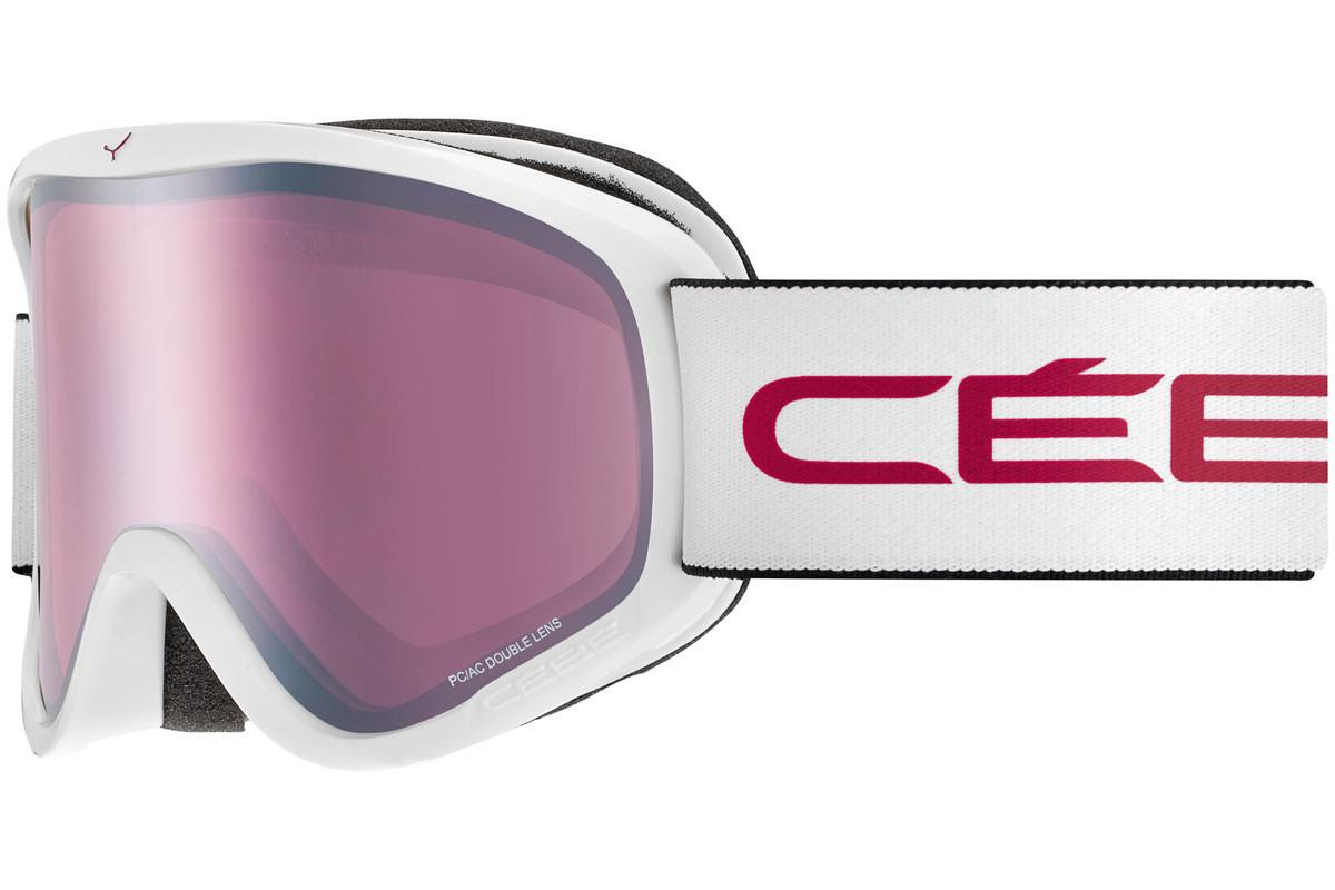 Cebe RAZOR M  Mat white pink Light Rose Flash Gold Cat.2 Kayak Gözlüğü