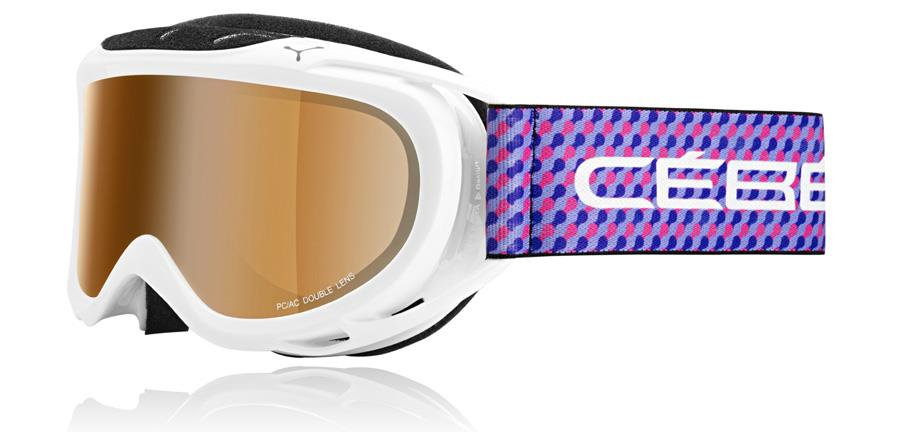 Cebe Verdict Kayak Snowboard Gözlük M Purple Dots Oranj Flash Cbg31