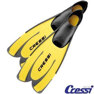 Cressı Pluma Clear/Yellow Palet 35 36 Crsca176035