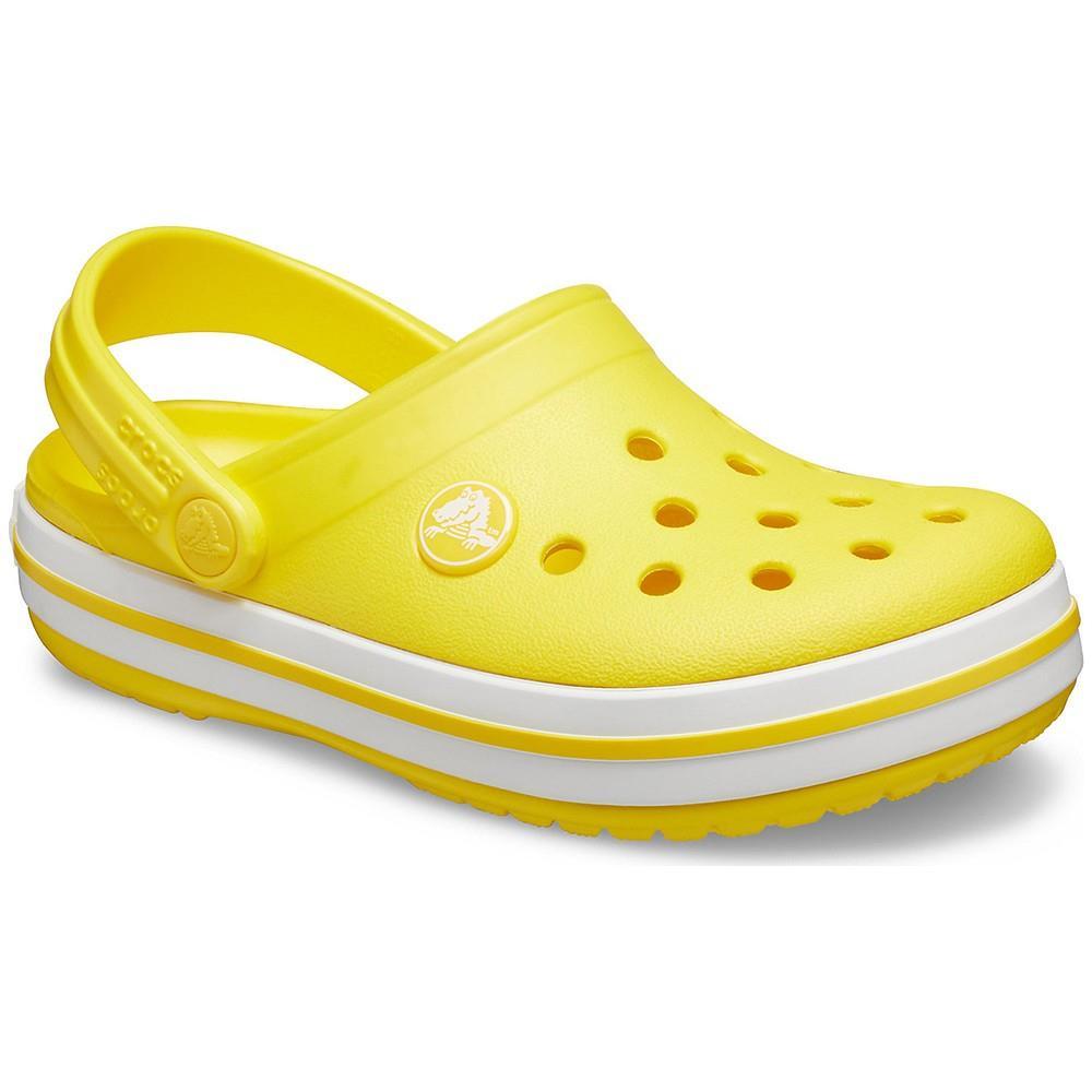 Crocband Clog K Sarı Çocuk Terlik CR0928 7C1