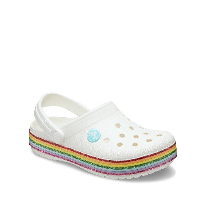 Crocs Crocband Rainbow Glitter Clg K Terlik  CR0938 100