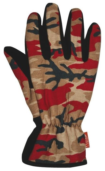Glove Camouflage Red Large Wdg169/L