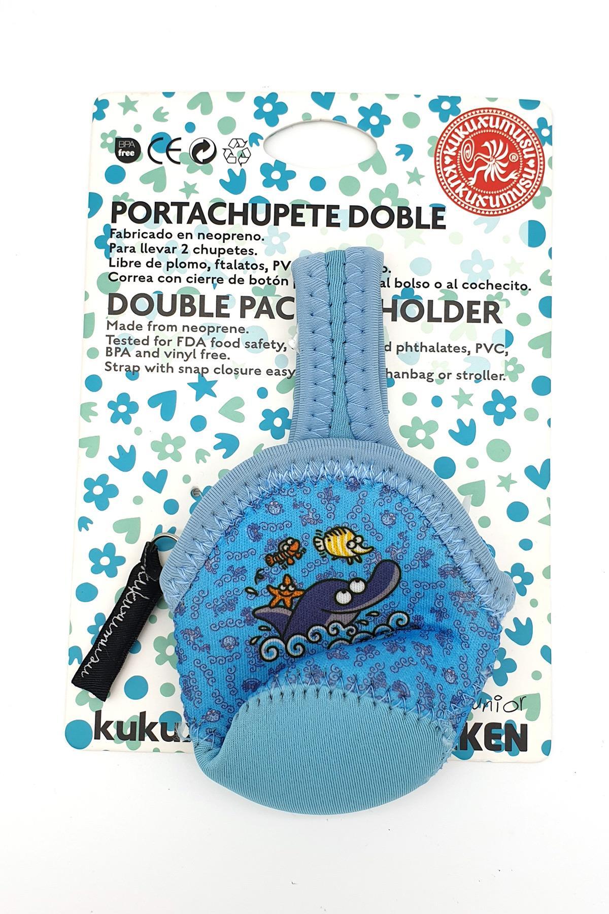 Laken İspanya Üretimi Junior Puset Askılı Emzik Taşıma Çantası Delfin Lkkch-D