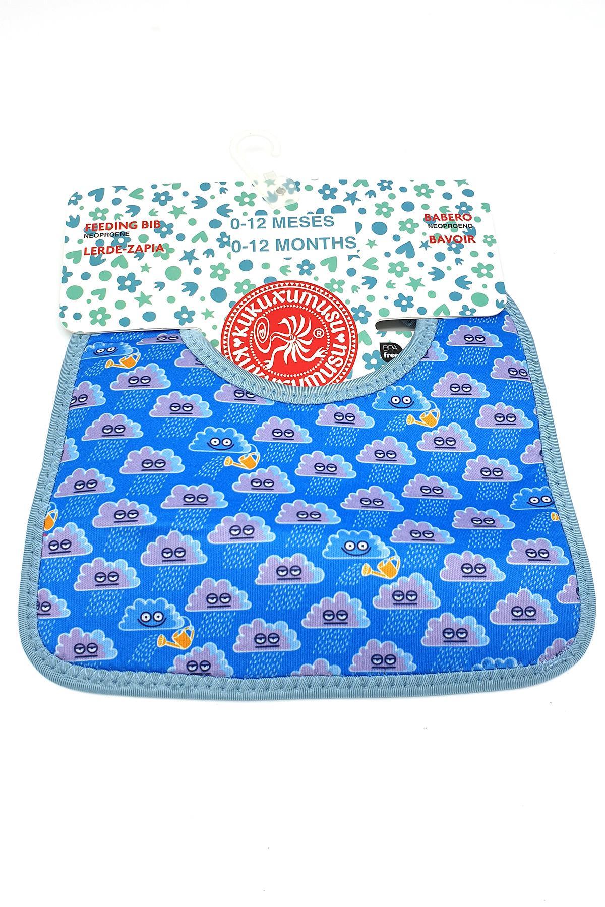 Laken Junior 12 24 Ay Neopren Cepli Önlük Nubes Azul Lkkbnb-Cb
