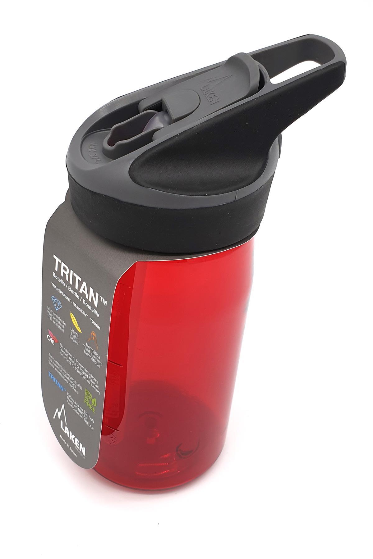 Laken Tritan Jannu Şişe 0,45L - Kırmızı
