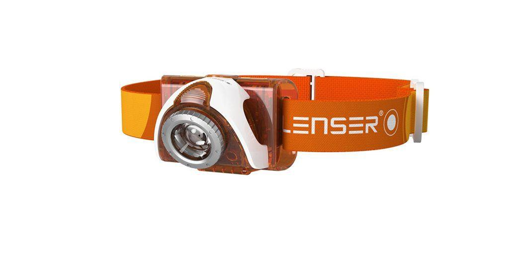 Led Lenser Seo3 Orange Kafa Feneri Led6104