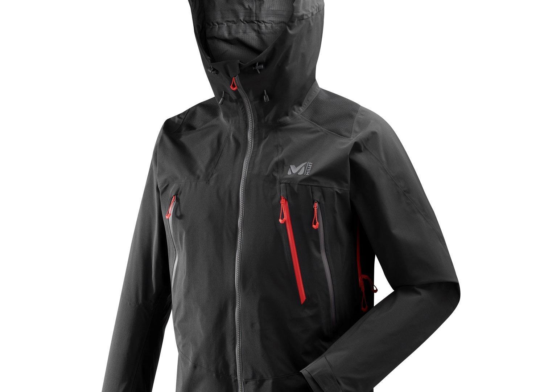 Millet K Goretex Pro 3L Teknik Ceket Siyah  MIV8128 0247