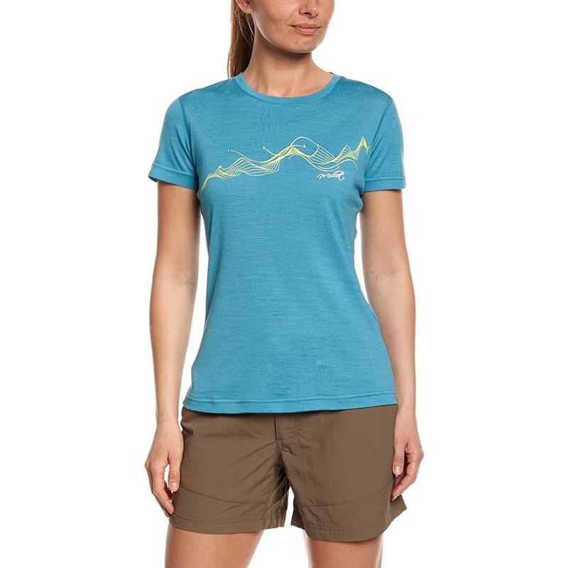 Millet Lucky Wool Print Kadın T Shirt Miv5442