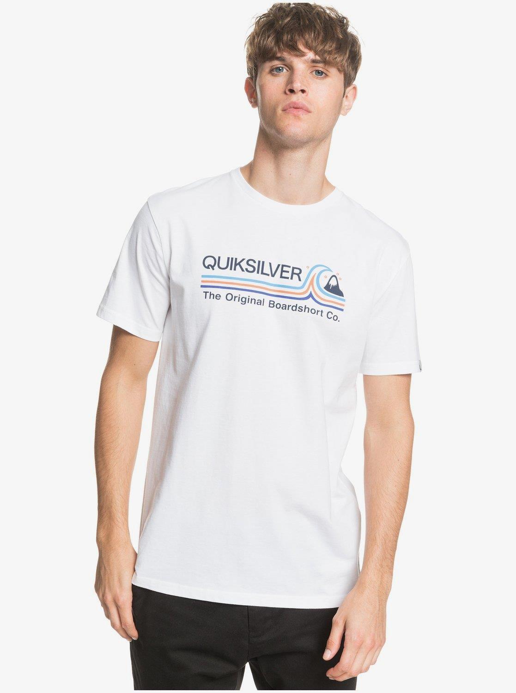 Quiksilver Stonecoldclassi Erkek Tees Wbb0 Tişört Eqyzt05748-Wbb0