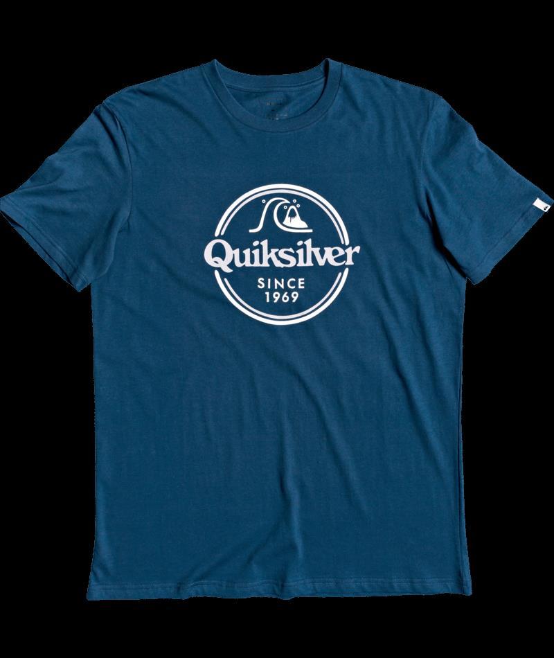 Quiksilver Wordsremaınss M Tees  BSM0 Erkek Tişört EQYZT05753-BSM0