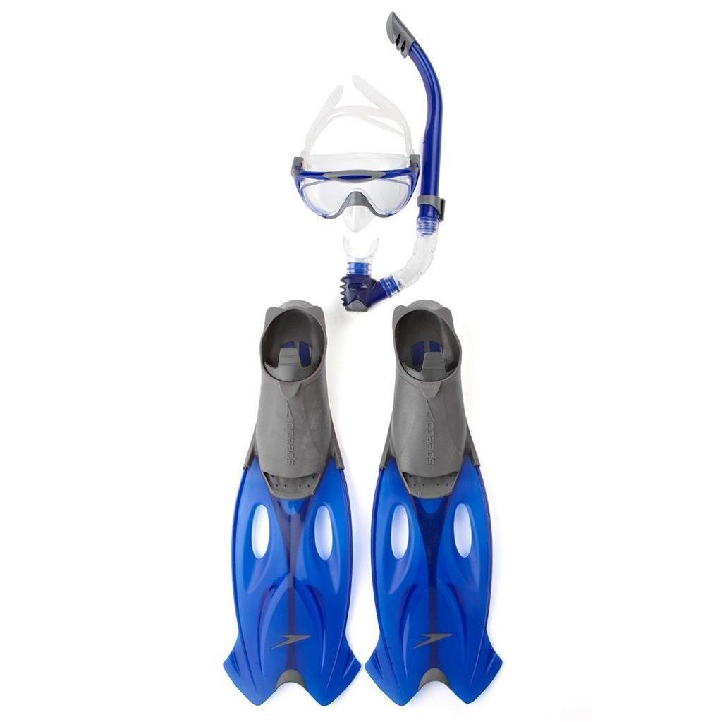 Speedo Glıde Mask Snorkel Set Unı Gre/Bl S8016595052A