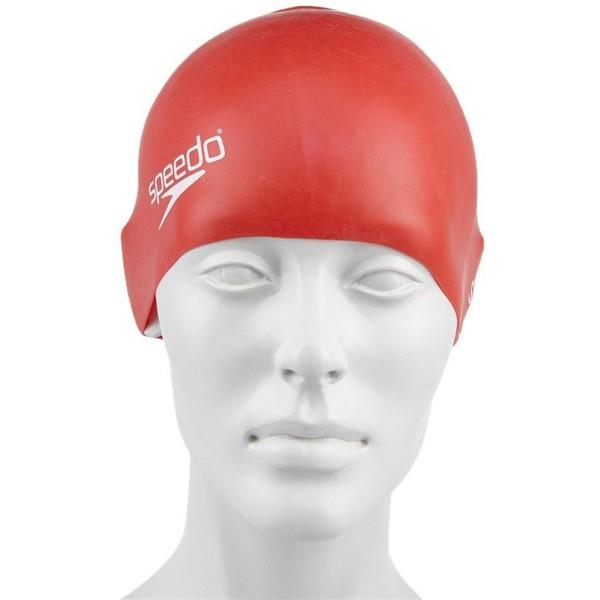 Speedo Moulded Sılıcone Cap Ju Red Sp8709900004