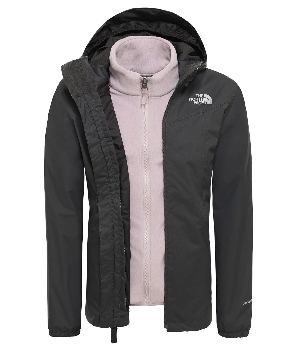 The North Face  Eliana Poları  Çıkabilen 3 in 1 Kız Ceketi nf0A3Yf40C51