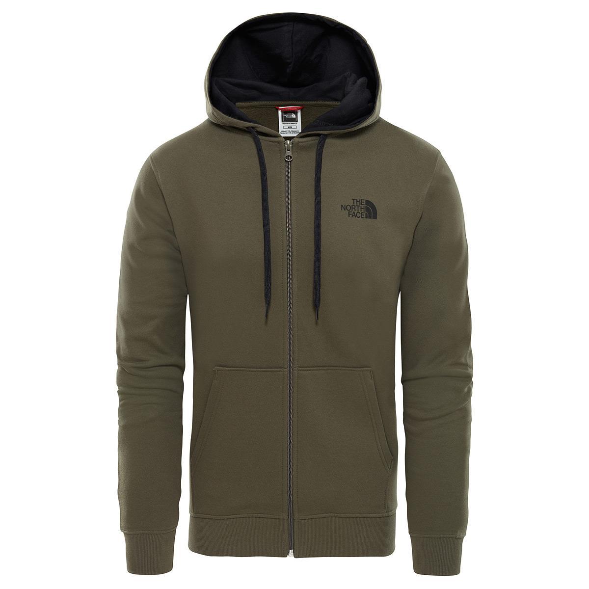 The North Face Erkek Open Gate F-Zip Hoodie Sweatshirt T0CG4621L
