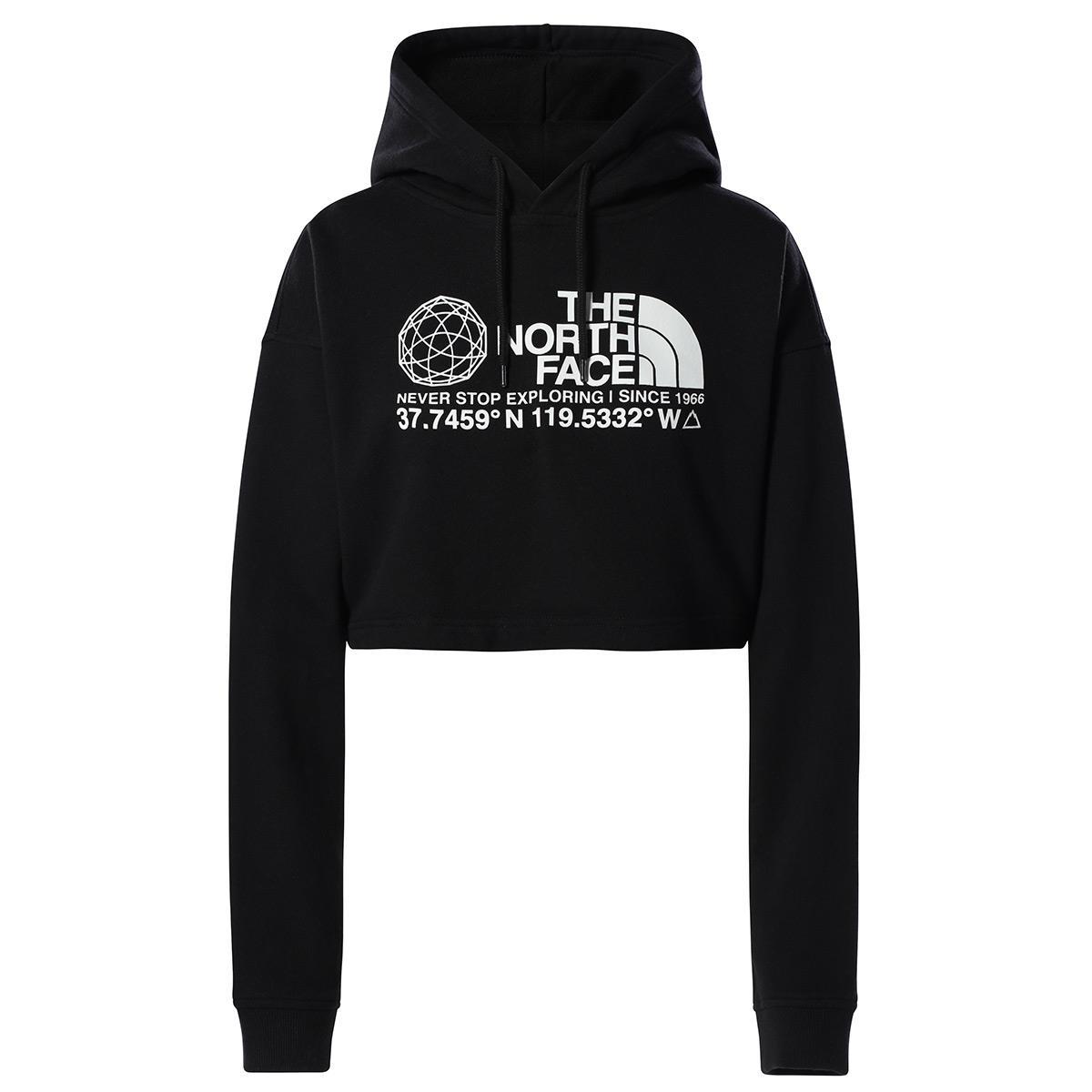 The North Face  Kadın COORDINATES CROP DROP P/O HOODIE  Sweat Shirt