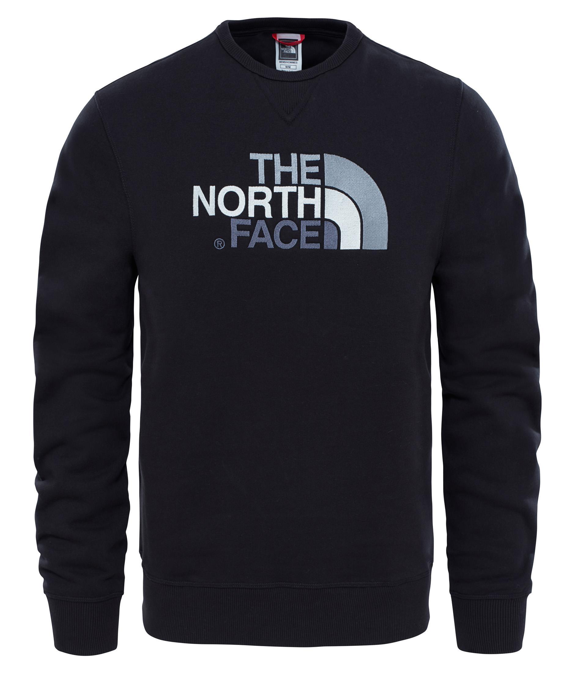 The North Face M Drew Peak Crew Erkek Sweatshirt 92ZWRJK3