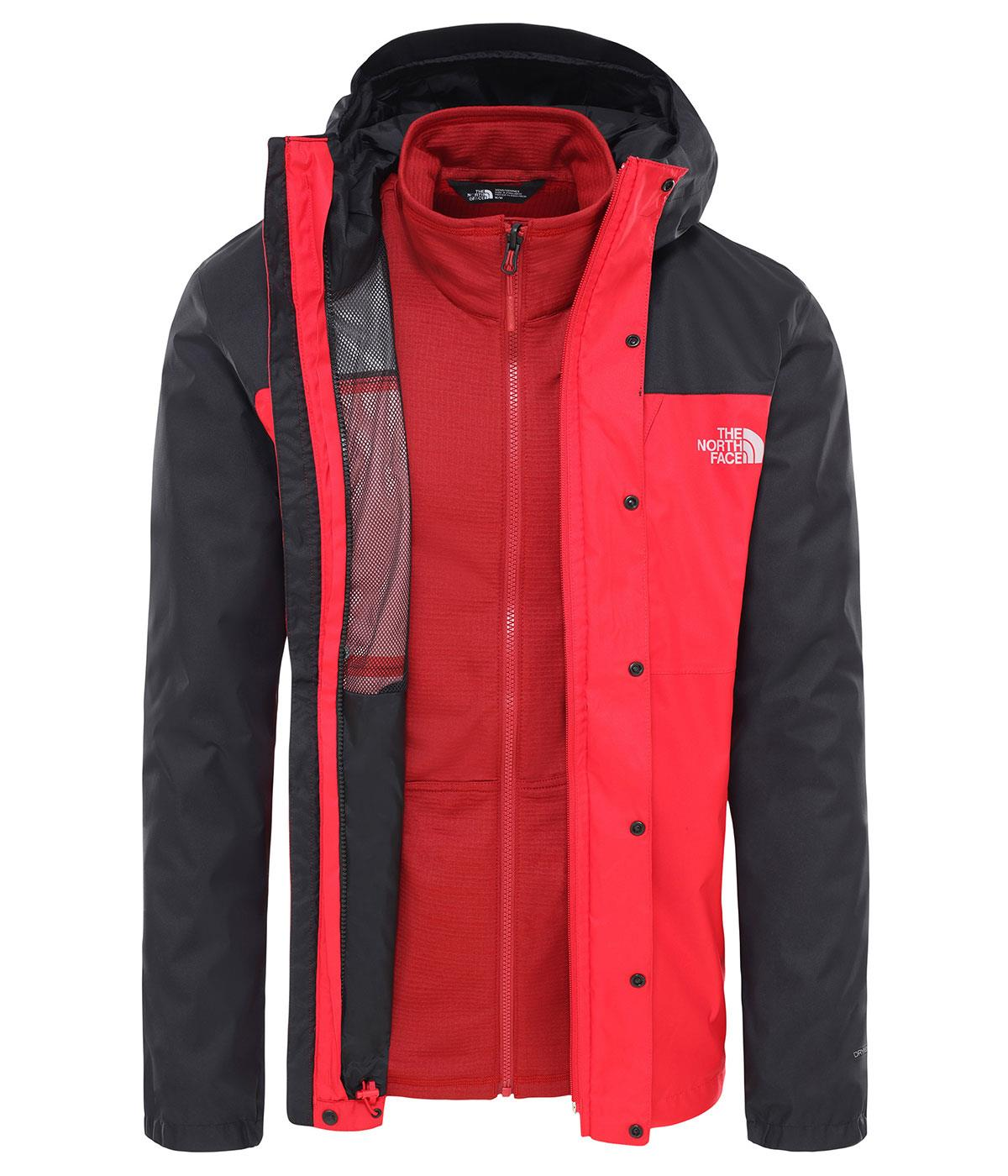 The North Face Erkek  Quest Triclimate J Nf0A3Yfhkz31