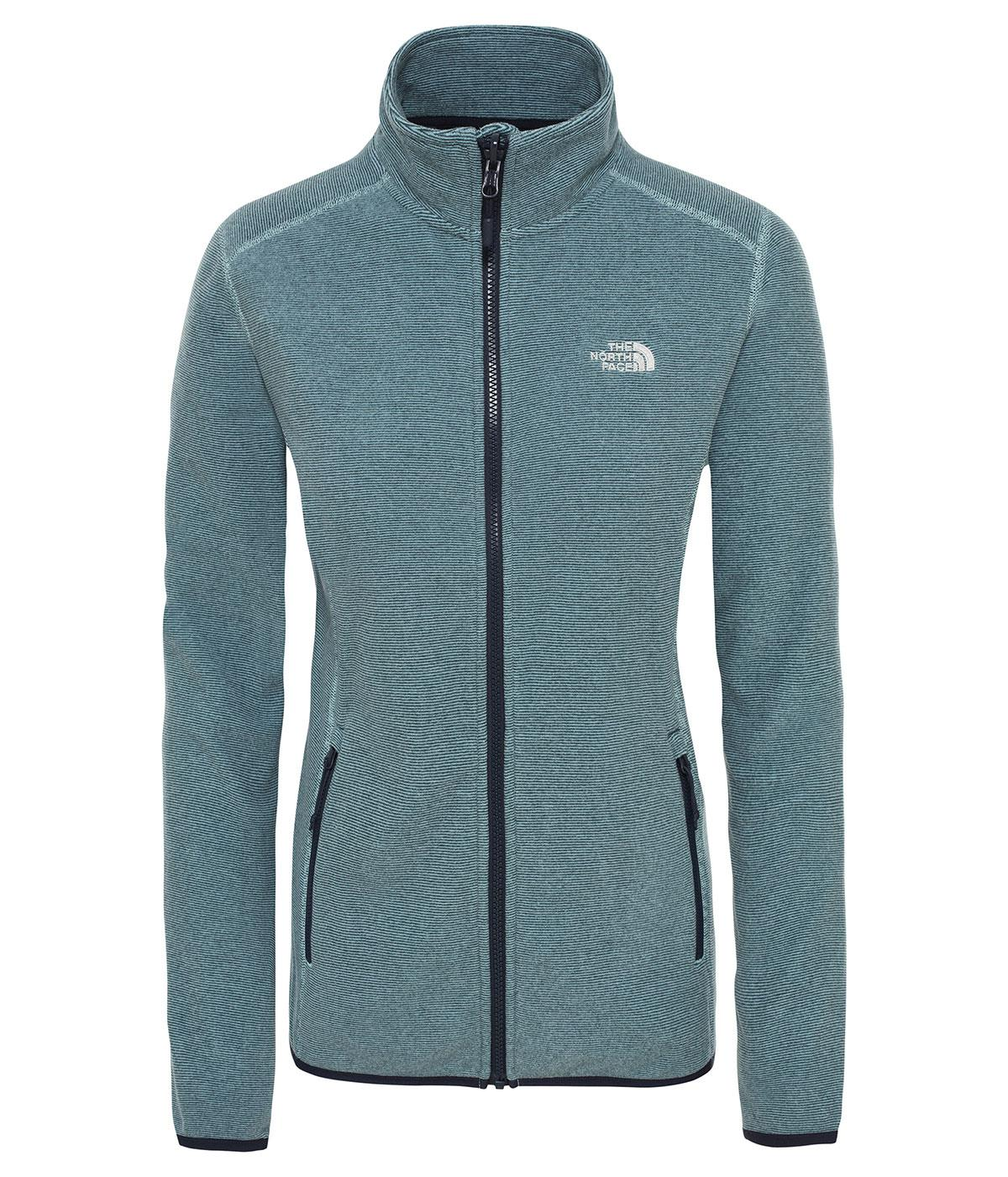 The North Face Kadın 100 Glacier Full Z  Ceket Nf0A2Uauhv71