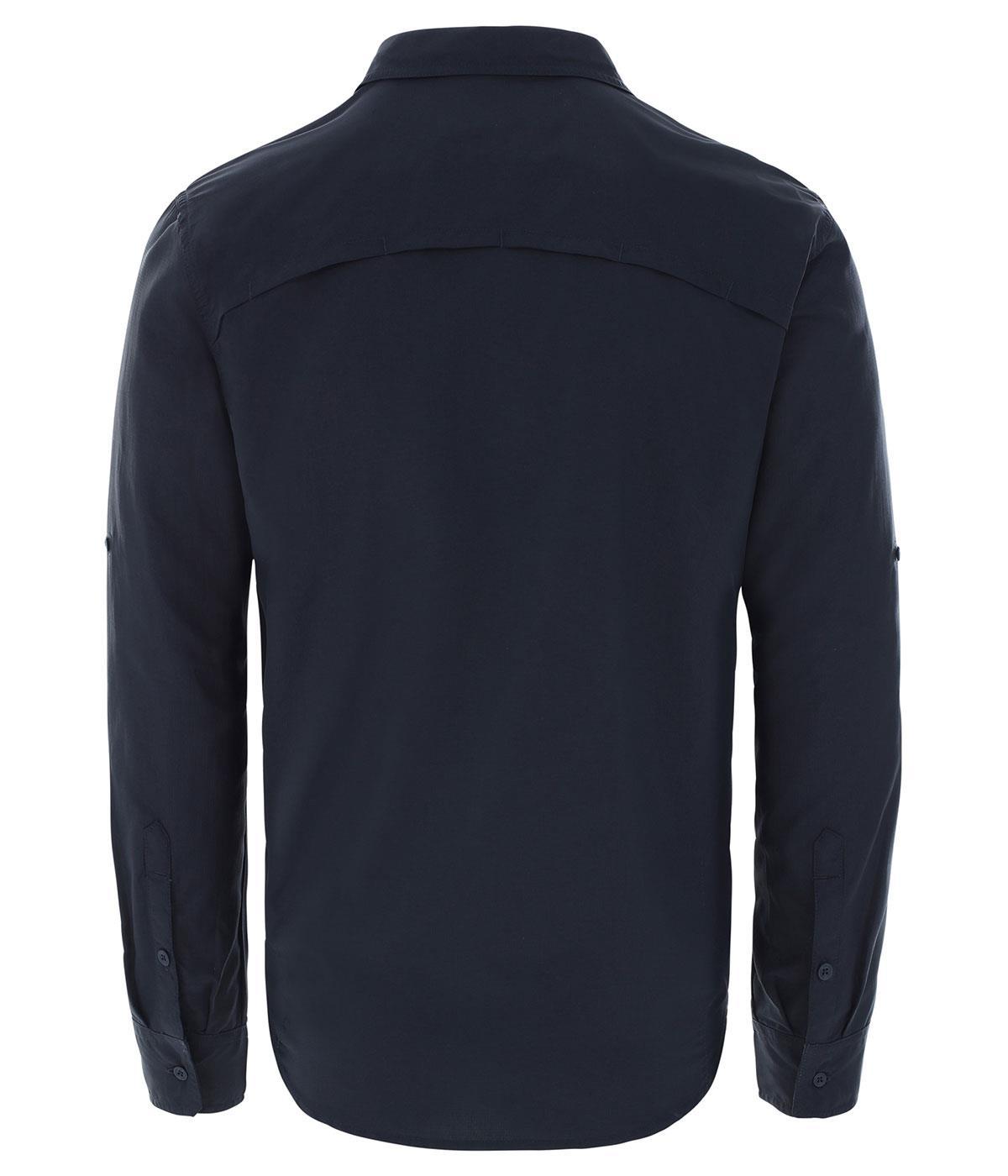 The Northface Erkek L/S SEQUOIA  Lacivert Gömlek -EU NF0A2XJWH2G1