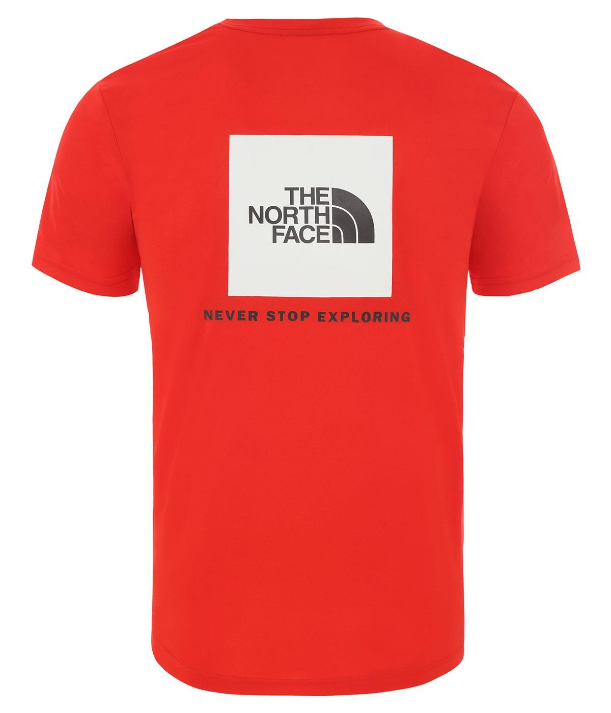 The Northface Erkek REAXION RED BOX Tişört NF0A4CDW15Q1