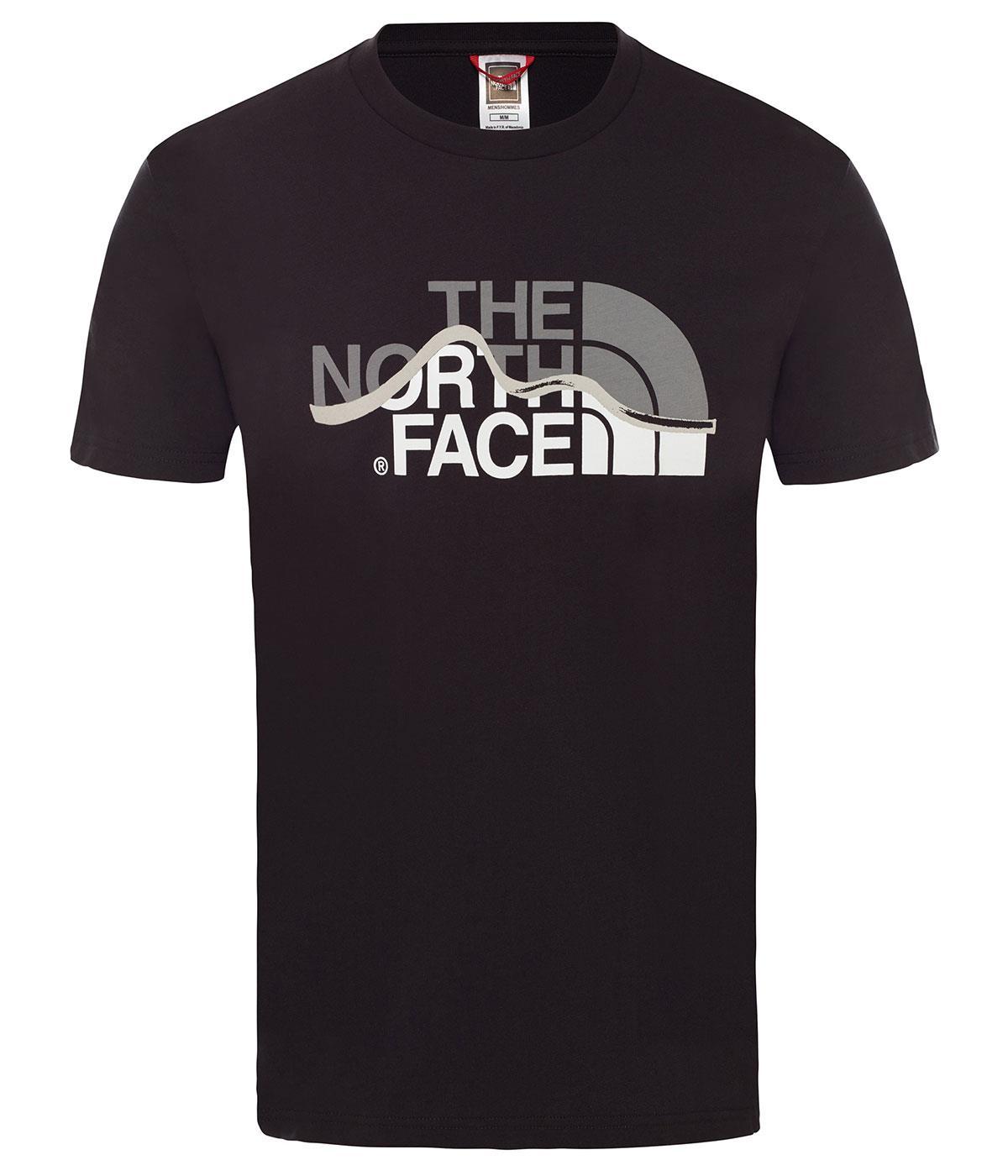 The Northface Erkek S/S MOUNTAIN LINE  Tişört  - EU NF00A3G2JK31