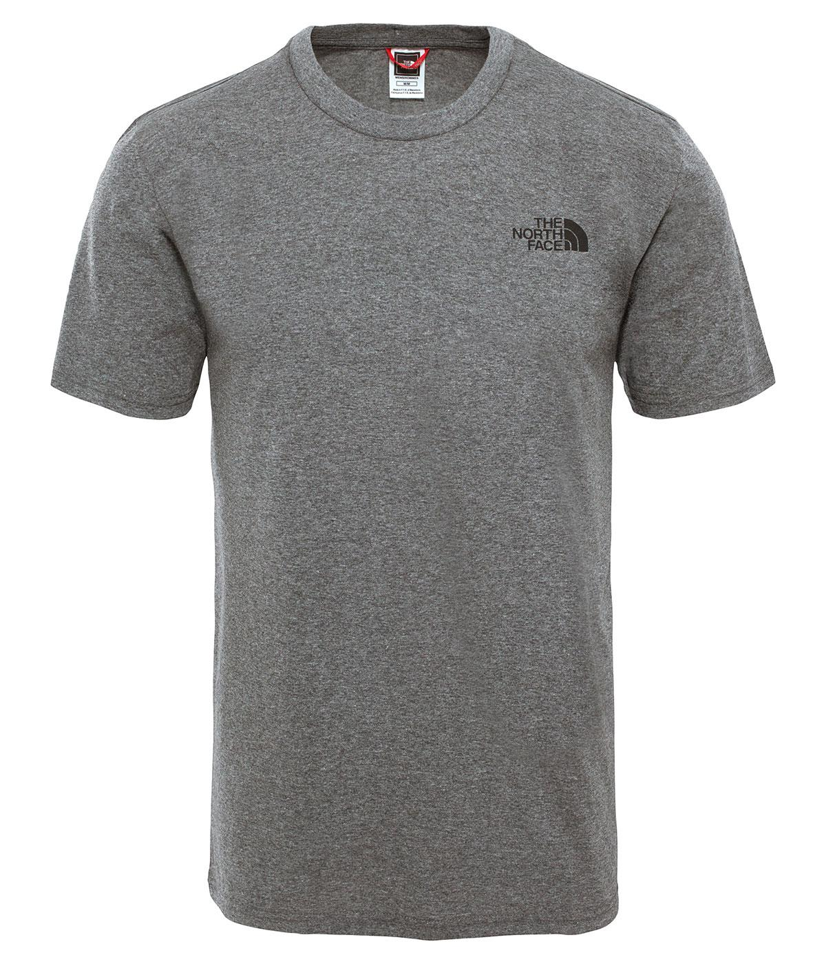 The Northface Erkek S/S Simple Dome Gri Tee T92Tx5Jbv