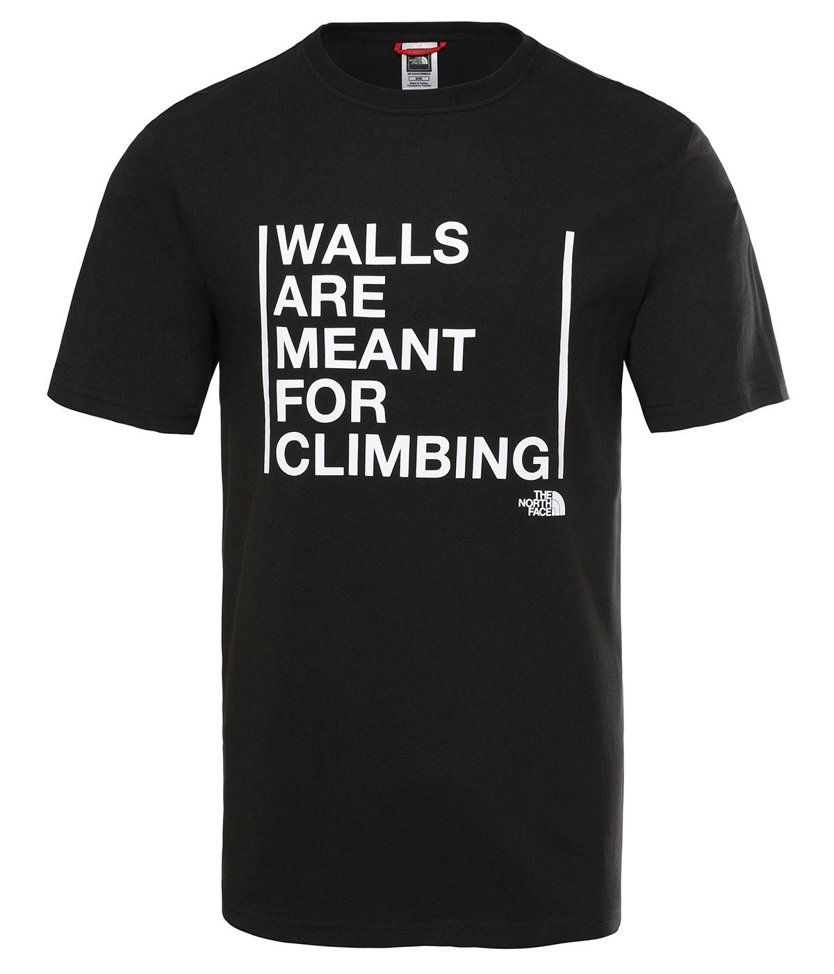 The Northface Erkek S/S WALLS ARE FOR CLIMBING TEE-EU NF0A3S3SJK31