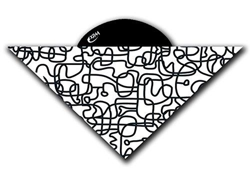 Wind Peak Black And White Bandana Wd7105