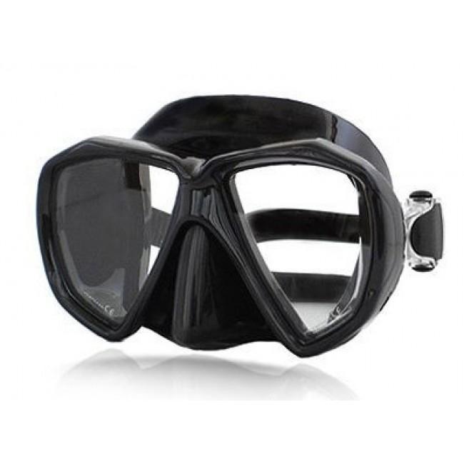 Amphibian Pro Diablo Dalış Maskesi(SIYAH)