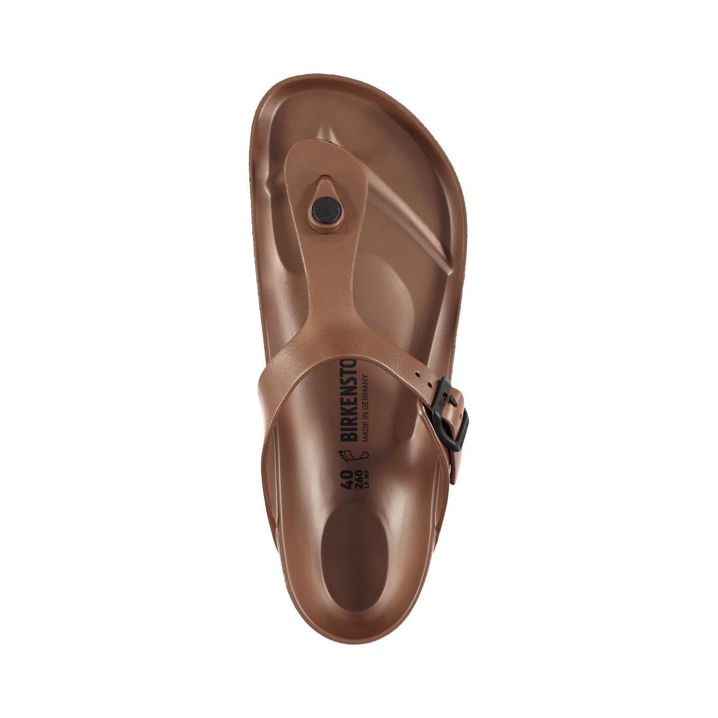 Birkenstock Gizeh Eva Metallic Copper Kadın Terlik Brk1001506