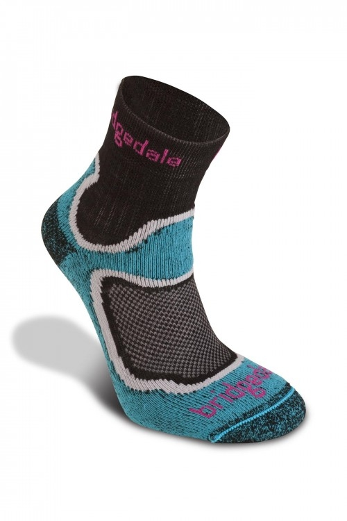 Bridgedale Cool Fusion Run Speed Trail Kadın Çorabı Brd635