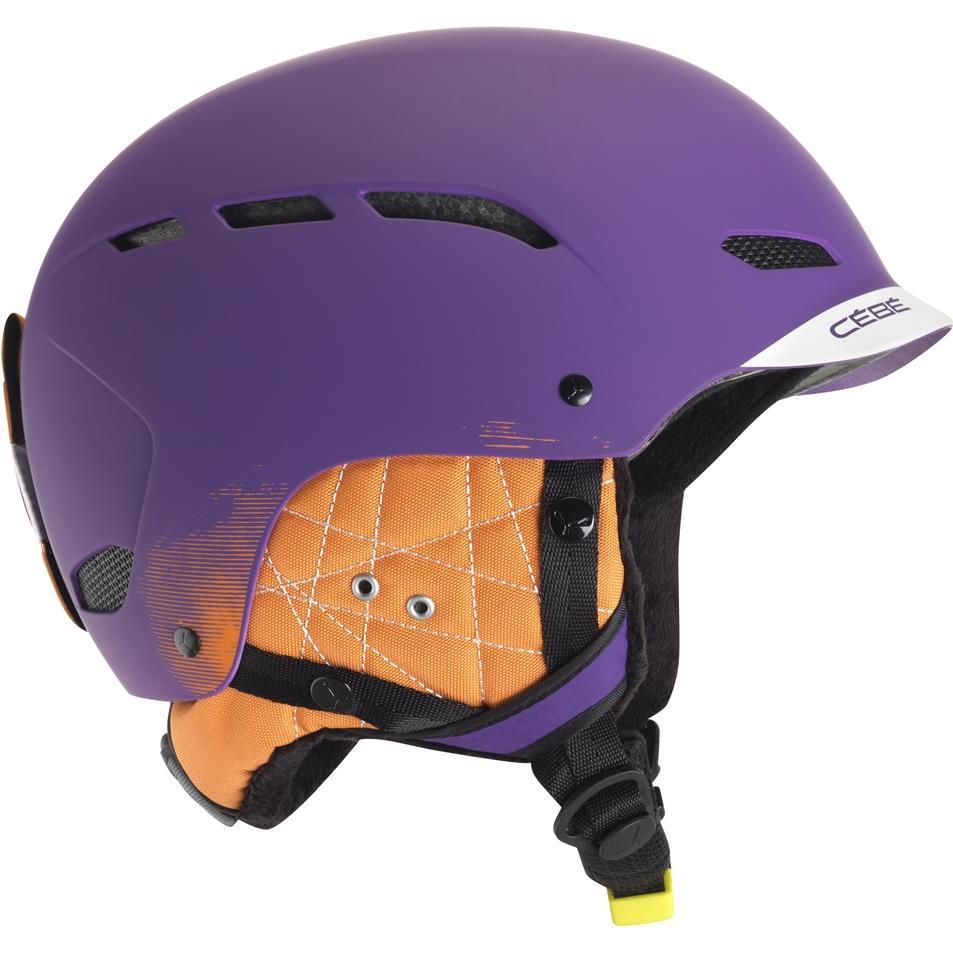 Cebe Dusk Kayak Snowboard Kask 53 57Cm Fs Purple Cbh86