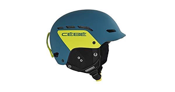 Cebe Dusk Kayak Snowboard Kask 55 58 Cm Push Yeşil Cbcbh32