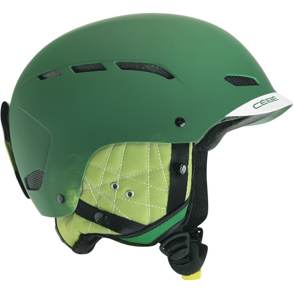 Cebe Dusk Kayak Snowboard Kask 58 62Cm Fs Yeşil