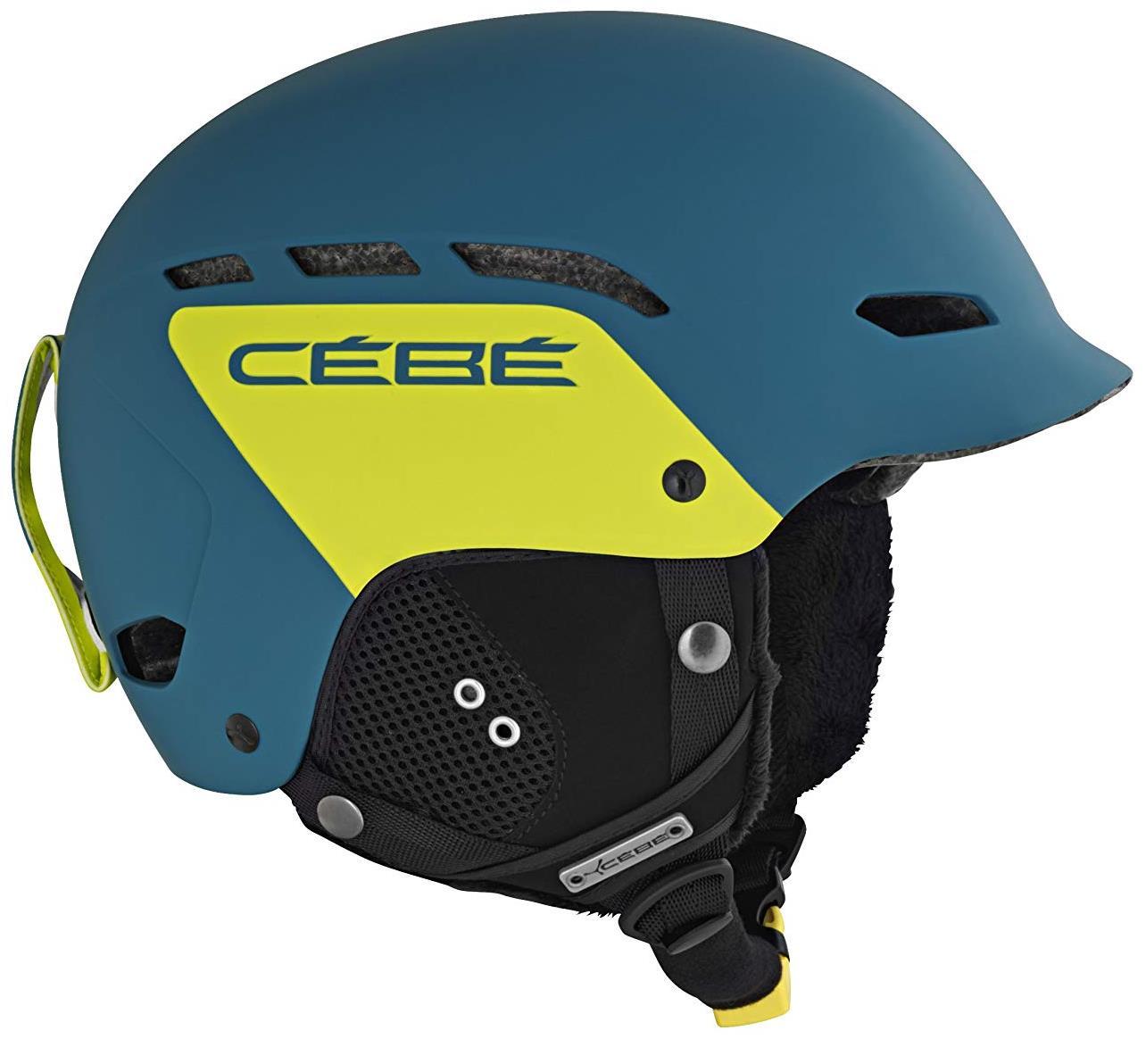 Cebe Dusk Kayak Snowboard Kask 58 62Cm Push Yeşil Cbcbh33