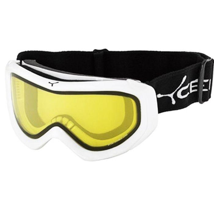 Cebe Eco Kayak Snowboard Gözlük Mixed Beyaz Sarı Cb1511D411M