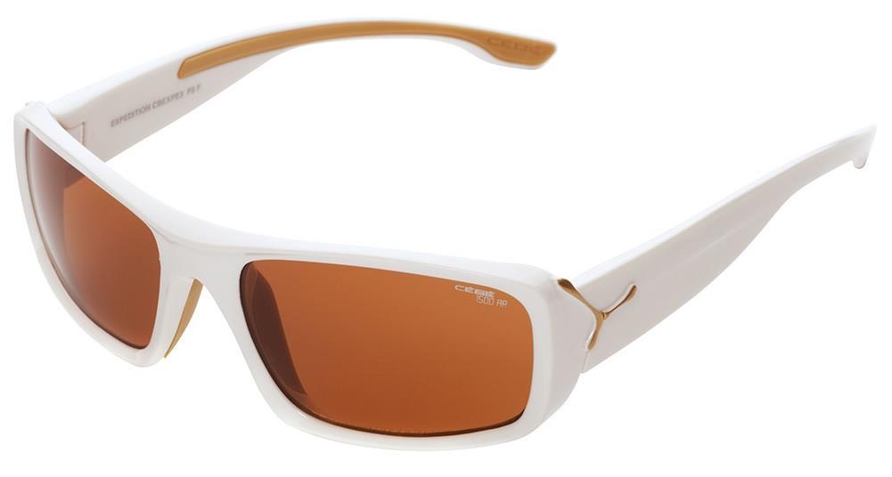 Cebe Expedıtıon Güneş Gözlük Parlak Beyaz Frame Lens1500 Bro Cbexpe3