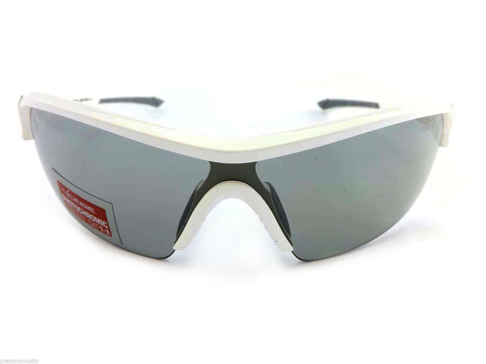 Cebe Eyemax Güneş Gözlük (Shield) Parlak Beyaz Frame Lensvar Cbeyem3