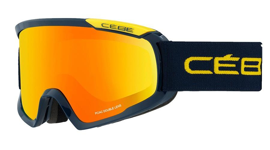 Cebe Fanatıc Kayak Snowboard Gözlük M Mavi & Yellow Oranj Fl Cbg100
