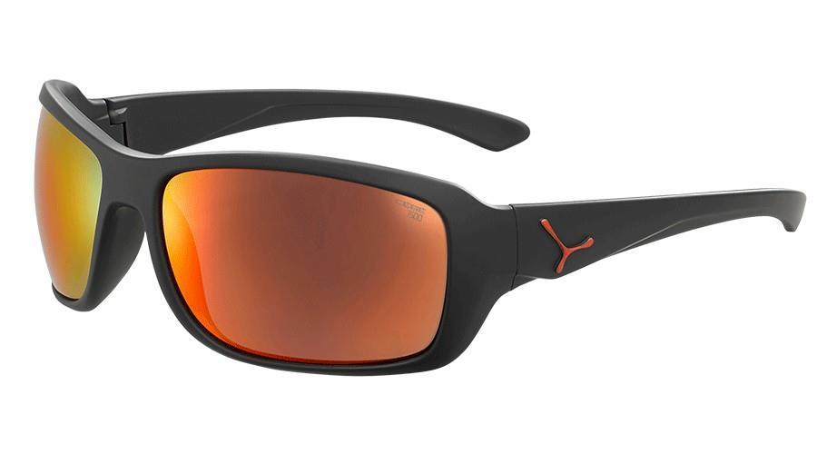 Cebe Haka Güneş Gözlük L Mat Siyah Kırmızı 1500 Grey Pc Kırm Cbhakal4