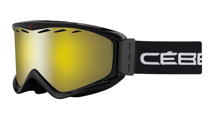 Cebe İnfınıty Kayak Snowboard Gözlük Otg Siyah Yellow Flash Cbg67