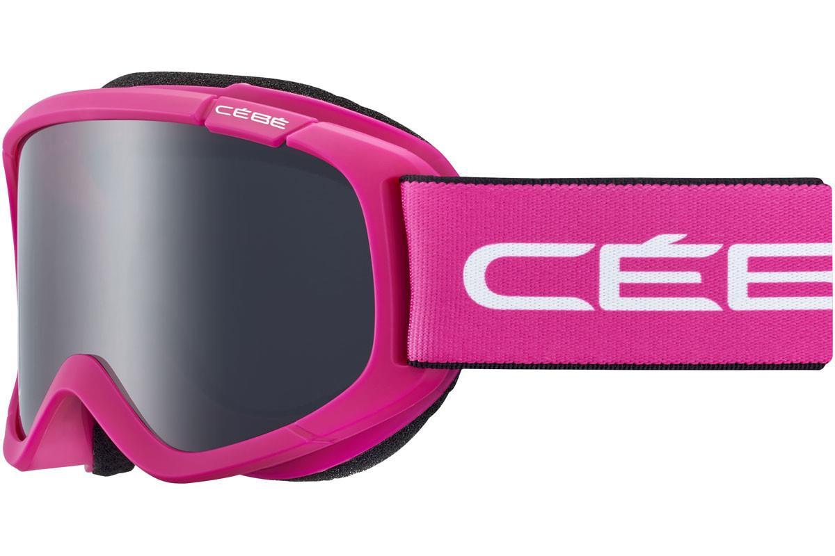 Cebe JERRY Bebek  2 Mat Pink White Grey Ultra Black Cat.3 Kayak Gözlüğü