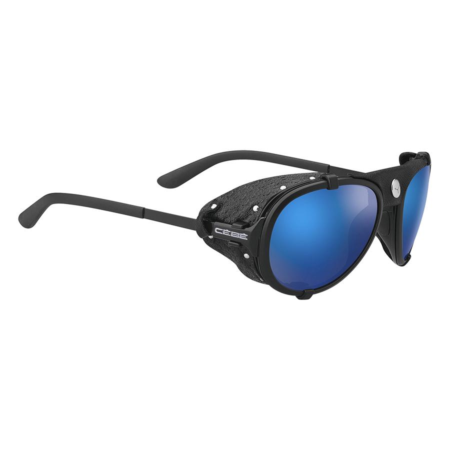 Cebe Lhotse Matt Black Sılver 4000 Grey Mineral Ar Blue Flash Mirror Cat.4 Cblhot2