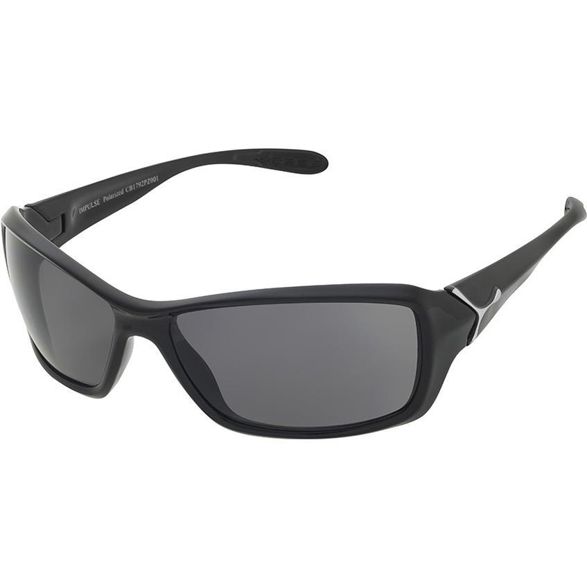 Cebe Motion Güneş Gözlük Parlak Siyah 1500 Polarized Grey Cb1791Pz001